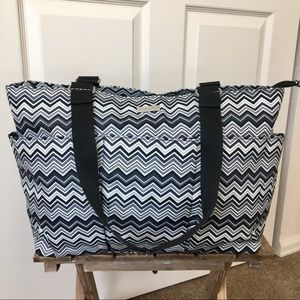 Baggallini Chevron Tote Bag